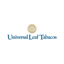 Logotipo Universal Leaf Tabacos